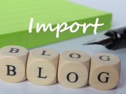 how to import blogger blog into wordpress blog step by step